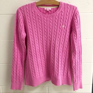 Lilly Pulitzer XL Cable Knit Sweater